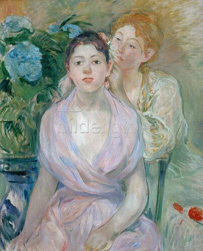 Berthe Morisot: Die Hortensie oder Die beiden Schwestern,1894