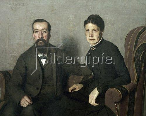 Felix Vallotton: Bildnis der Eltern des Künstlers, 1886