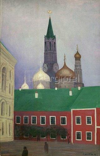 Ansicht des Kreml in Moskau von Felix Vallotton Kunstdruck ...