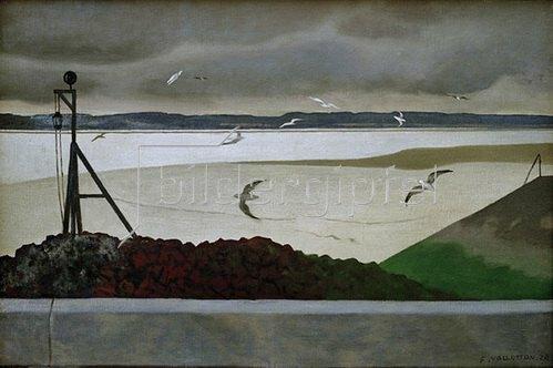 Felix Vallotton: The seagulls, 1920