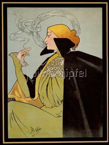 Zigarettenpapier JOB / Plakat 1896