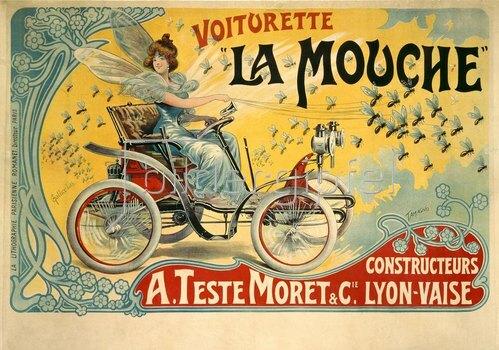 Francisco Tamagno: Automobil, Voiturette La Mouche
