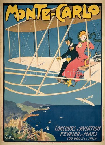 Flugwettbewerb in Monaco