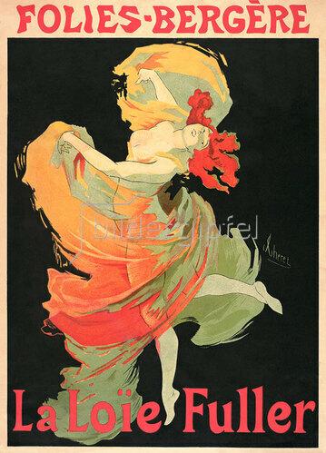 Jules Cheret: Folies Bergere / La Loie Fuller