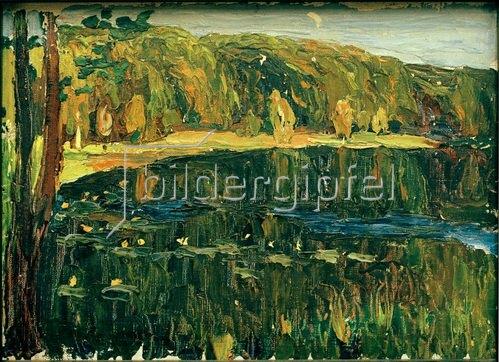 Wassily Kandinsky: Achtyrka: Dunkler See