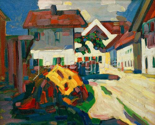 Wassily Kandinsky: Murnau Häusergruppe