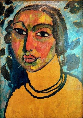 Alexej von Jawlensky: Das jüdische Mädchen, um 1912