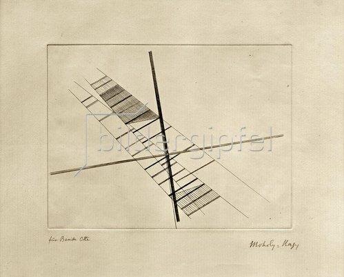 László Moholy-Nagy: Sich schneidende Diagonalen, 1925