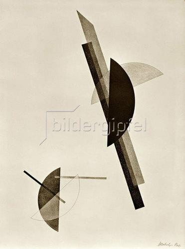 László Moholy-Nagy: Konstruktionen. 6. Kestner-Mappe, 1923