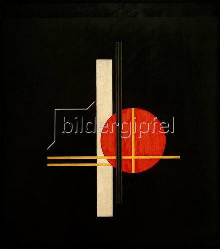 László Moholy-Nagy: Komposition Q XX, 1923