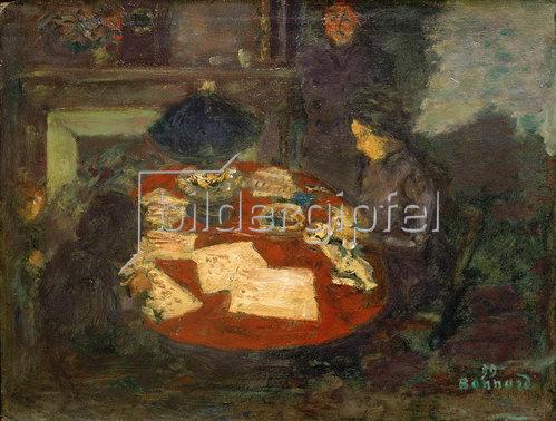 Pierre Bonnard: Unter der Lampe