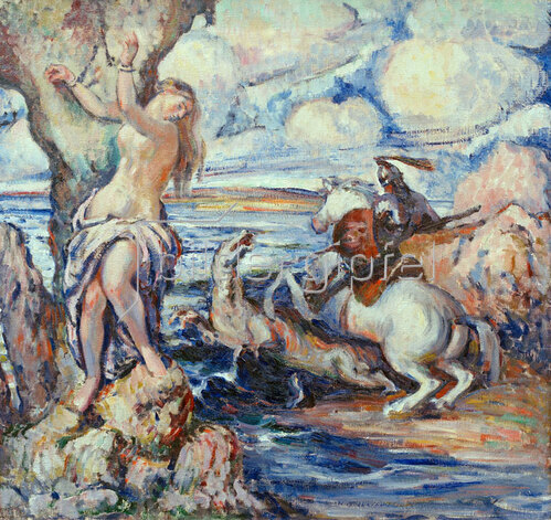 Erich Klossowski: St. George and Dragon, 1907,