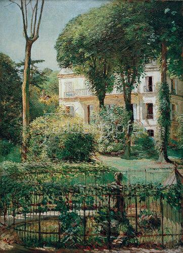 Walter Bondy: Villa in Paris, 1906