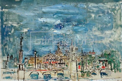 Wilhelm Thöny: Place de la Concorde, um 1935