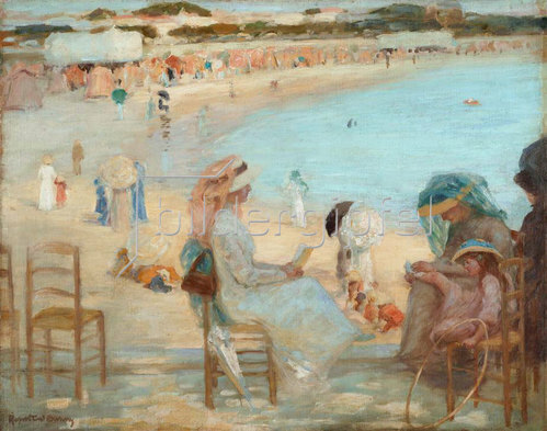Rupert Charles Winston Bunny: Am Strand, Royan
