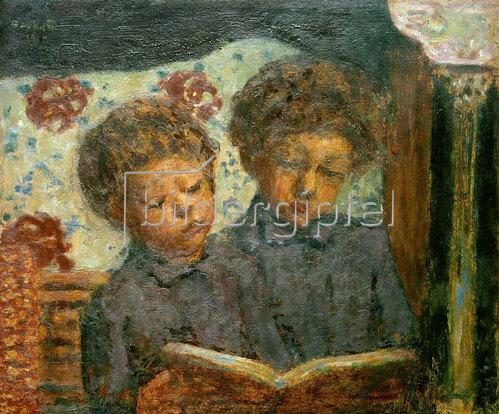 Pierre Bonnard: Lesende Kinder
