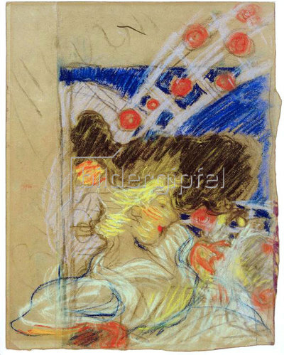 Pierre Bonnard: Studie für das Plakat Moulin Rouge