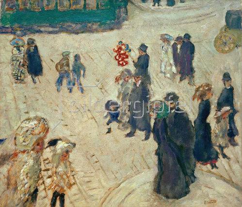 Pierre Bonnard: Die grüne Straßenbahn