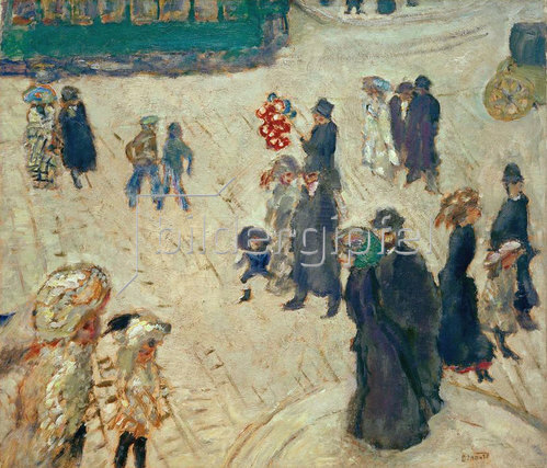Pierre Bonnard: Le tramway vert