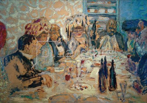 Pierre Bonnard: Ein Abendessen bei Vollard