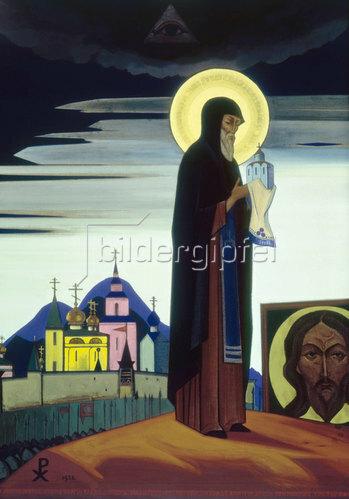 Nikolai Konstantinow Roerich: Der Heilige Sergius von Radonesch