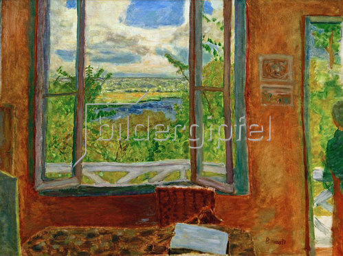 Pierre Bonnard: Offenes Fenster zur Seine