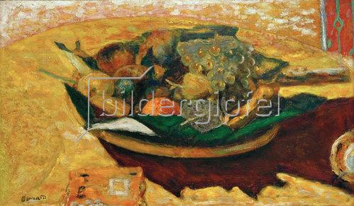 Pierre Bonnard: Schale mit Früchten auf einem Tisch