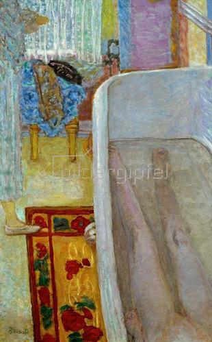Pierre Bonnard: Akt mit Badewanne,