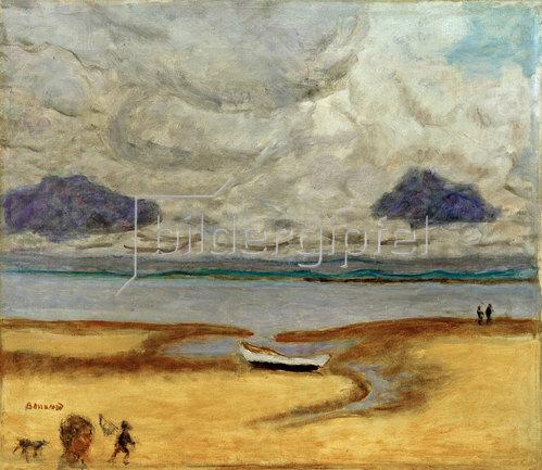 Pierre Bonnard: Der Strand bei Ebbe, Arcachon