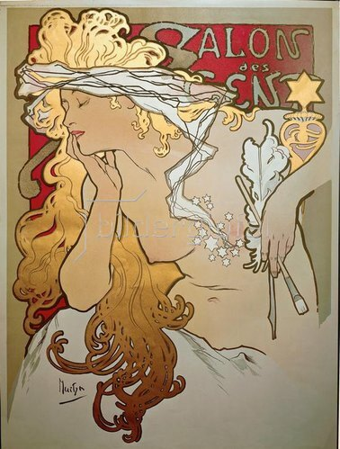Alfons Mucha: Exposition du Salon des Cent
