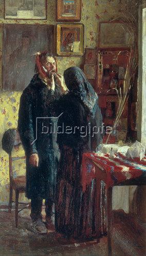Wassily Meschkov: Bei der Dorfzahnärztin, 1891
