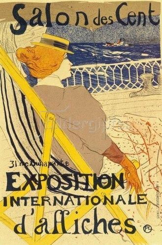 Henri de Toulouse-Lautrec: La Passagère du 54 ou Promenade en Yacht