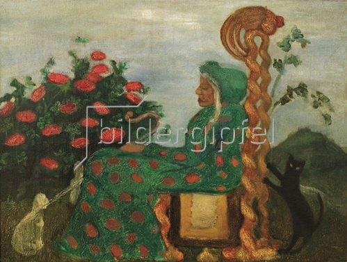 Paula Modersohn-Becker: Die Märchendrude, 1901