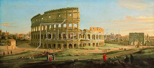 Gaspar Adriaens van Wittel: Ansicht des Kolosseums in Rom