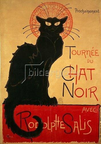 Théophile-Alexandre Steinlen: Plakat Chat Noir