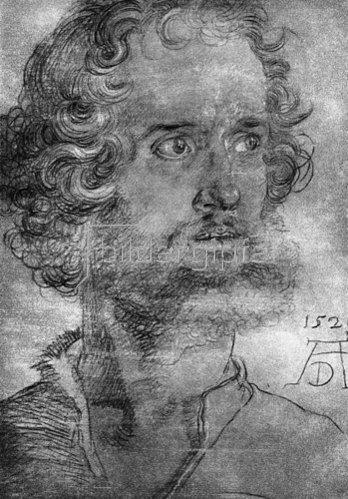 Albrecht Dürer: Kopf des Evangelisten Markus, 1526