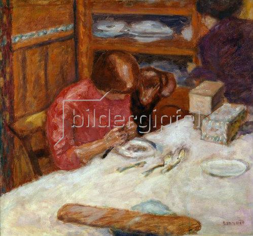 Pierre Bonnard: Interieur, oder Die Frau mit Hund