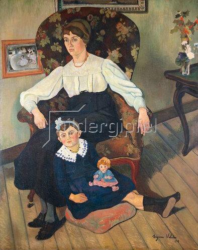 Suzanne Valadon: Marie Coca und Tochter