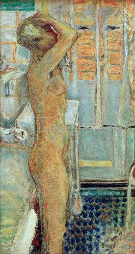 Pierre Bonnard: Grauer Akt im Profil