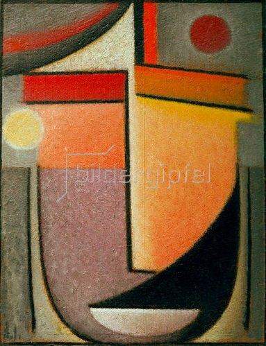 Alexej von Jawlensky: Abstrakter Kopf: Morgenlicht, um 1926