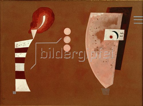 Wassily Kandinsky: Mitten Kreise