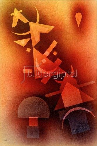 Wassily Kandinsky: Aus kühlen Tiefen, 1928