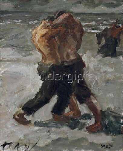 Max Beckmann: Rivalen: Ringerpaar