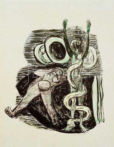 Max Beckmann: Sündenfall