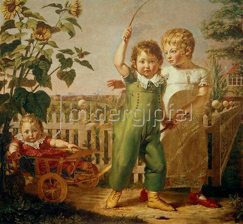 Philipp Otto Runge: Die Hülsenbeckschen Kinder. 1805/06