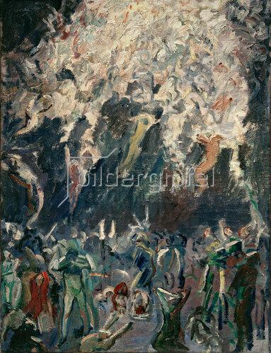 Max Beckmann: Auferstehung, 1907