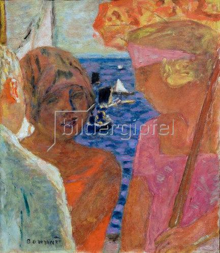 Pierre Bonnard: Gespräch in Arcachon