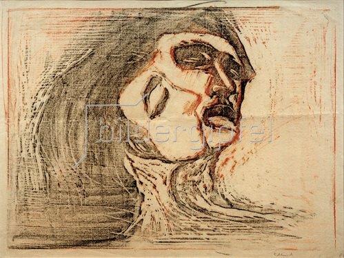 Kopf bei Kopf (Mann und Weib, sich küssend), 1905