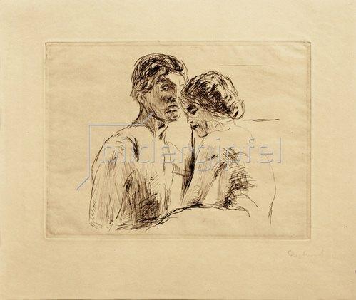 Edvard Munch: Mann und Frau 1914