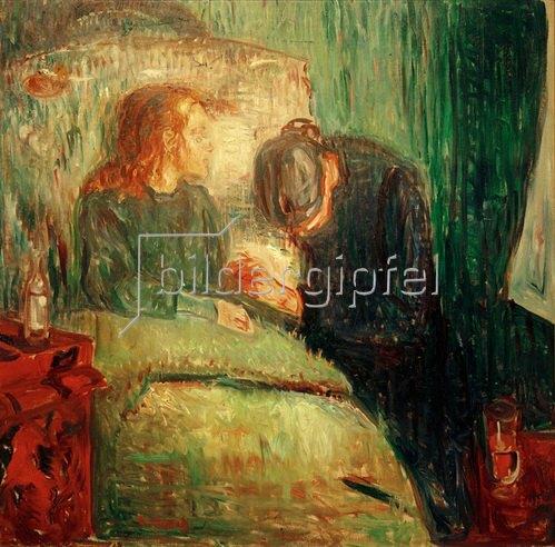 Edvard Munch: Das kranke Kind 1907